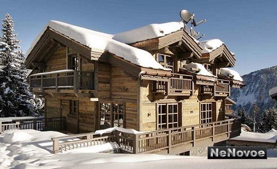 Аренда дома на горнолыжном курорте Куршевель