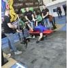 Помост для залов тяжелой атлетики, защитный настил для фитесзалов