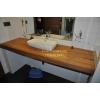 Столешница или стол из Тикового дерева для Ванной комнаты, от Тик-Мастер